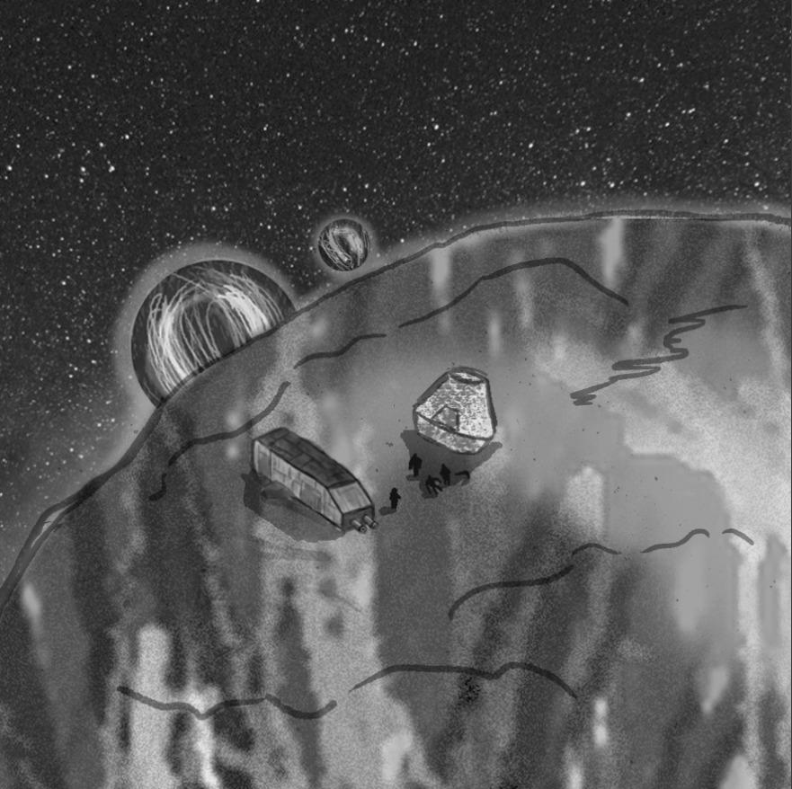 El ataque a las lunas de Qaion